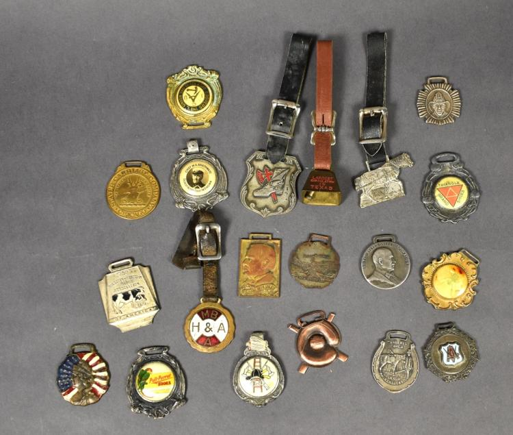 Group of 20 Watch Fobs