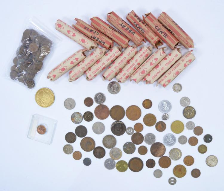 15 Rolls of Circulated Lincoln Wheat Cents