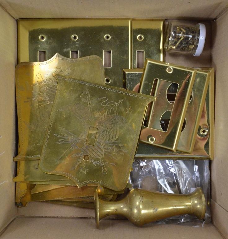 Bx Brass Switch Plates
