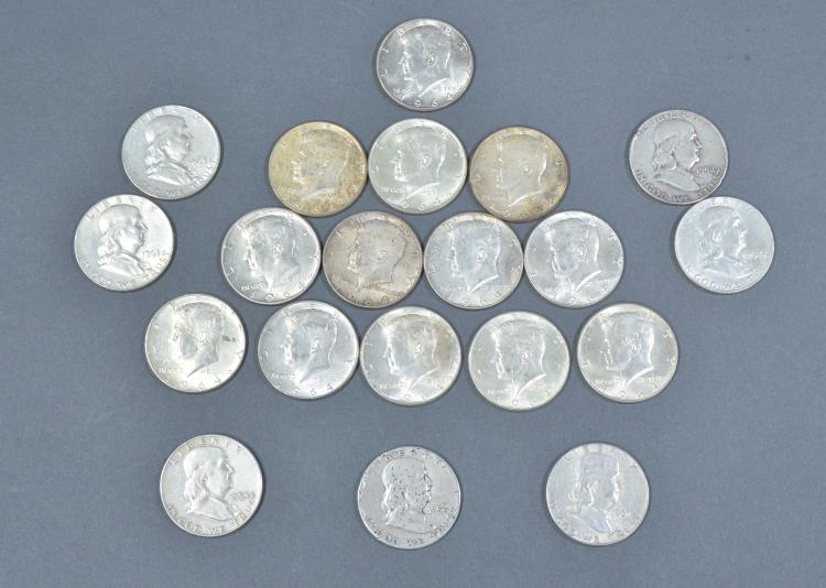 Roll of Silver Half Dollars