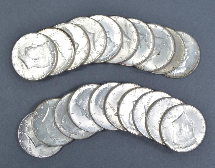 Roll of 1964 Kennedy Halves