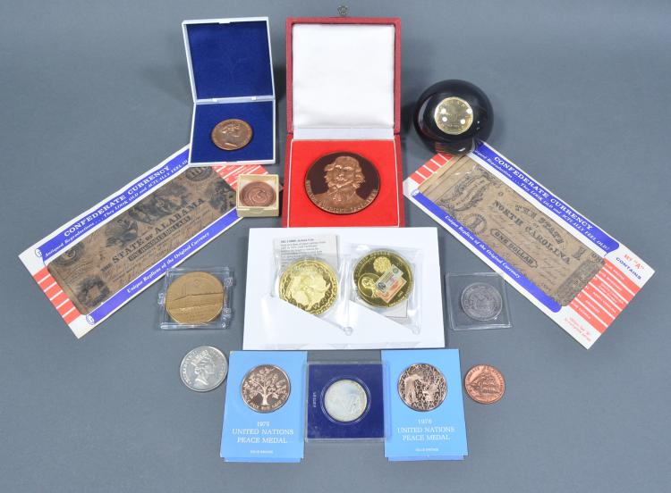 Group of U.S. & Foreign Medals