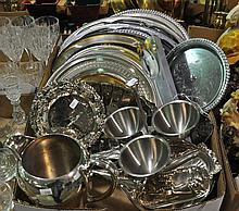 Bx Silverplate Hollowware