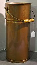 Tall Copper Bucket