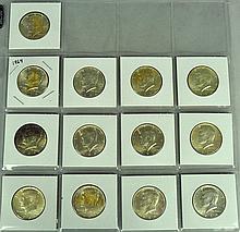 13 Kennedy Silver Halves