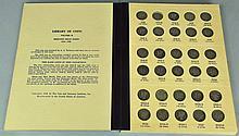 Mercury Dime Collection in Album
