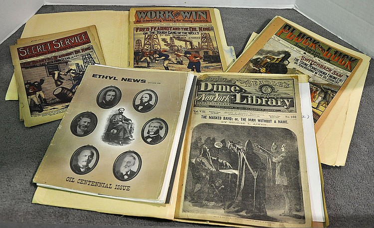 Bx Five Dime Novels