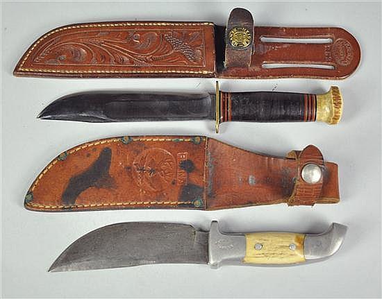Two Sheath Knives