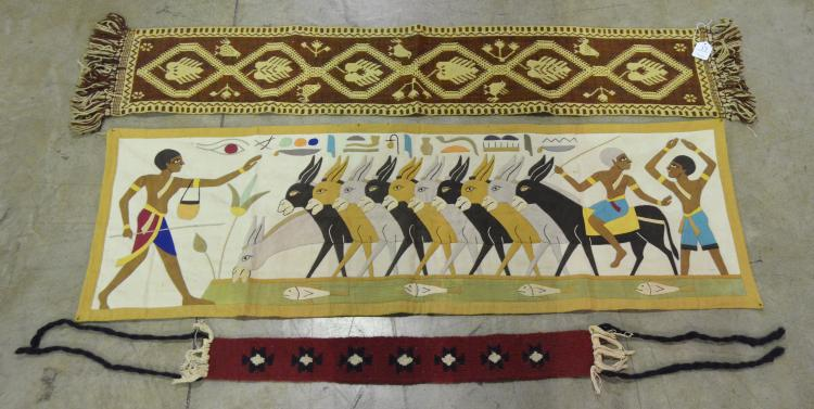 Group of Egyptian Wall Hangings