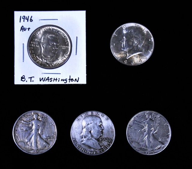 Group of 90% Silver Half Dollars