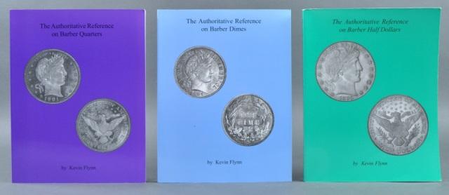 Three Numismatic Books by Kevin Flynn