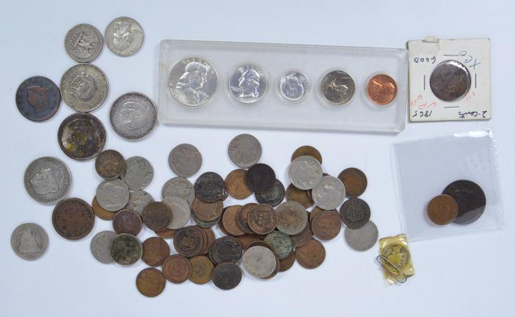 Misc. Lot of U.S. Coins