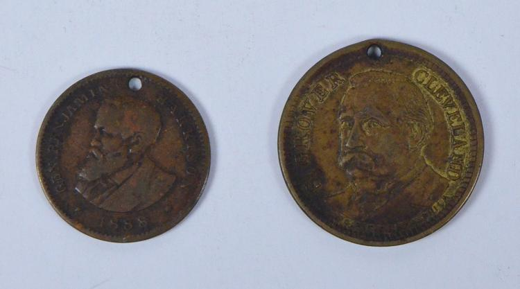1885 Grover Cleveland Campaign Medal