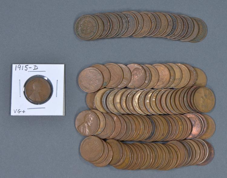 Lot of 21 Indian Cents