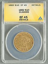 1882 Liberty $10 Gold Coin