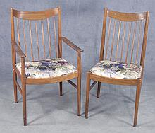 Pair Arne Vodder Danish Modern Chairs