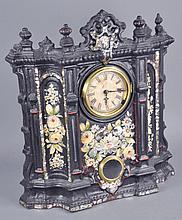 Large Iron Front Clock
