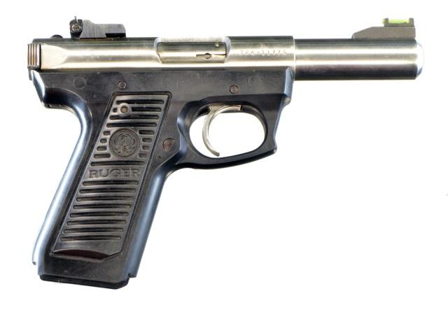 Ruger Mark II 22/45 Target Pistol**