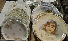 Two Bxs Misc. Decorative Plates