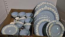 Eight Place Settings Wedgwood Dinnerware