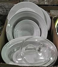 Bx Ironstone Bowls & Trays