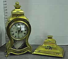 Gilt Shelf Clock