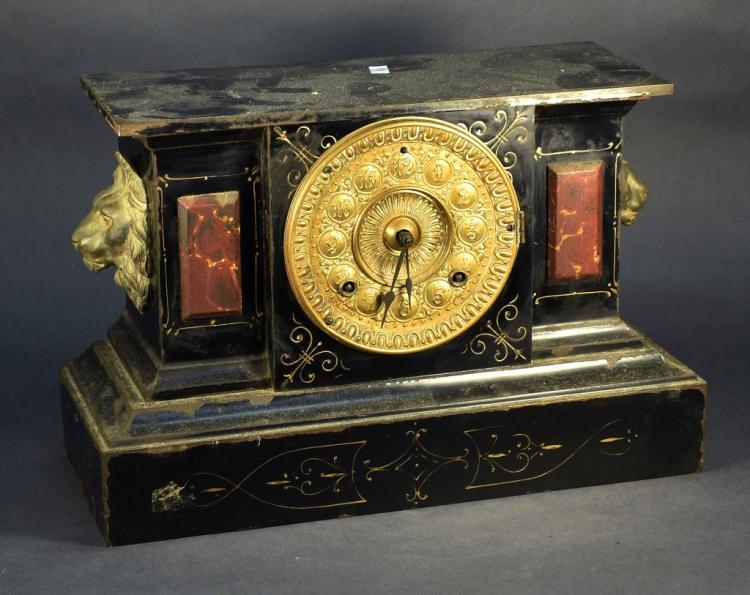 Ansonia Clock Company Iron Clock