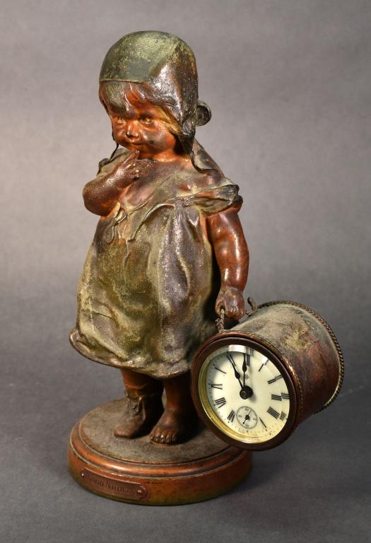 Ansonia Clock Company Statue Clock