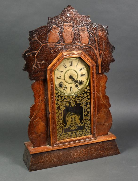 Owl Shelf Clock