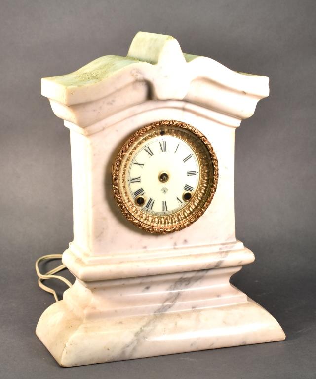 Ansonia Clock Company Marble Clock