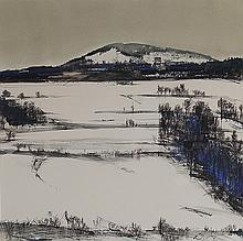 Jean-Baptiste Valadié (né en 1933) Paysage d'hiver