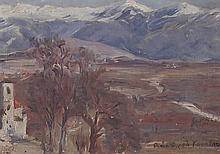 Thalia Flora-Caravia (1871-1960) Paysage