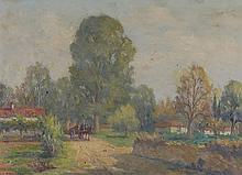 Stelios Miliadis (1881-1965) Paysage