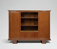Jules Leleu (1883-1961) Meuble bibliothèque