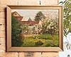 Victor CHARRETON (1864-1936)  Paysage    Huile sur panneau signé en bas à gauche