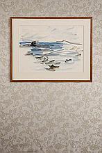 Charis Voyatzis (1924-1981) Paysage 1961