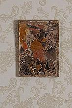 Nikos Hadjikiriakos-Ghikas (1906-1994) Brown ravine (Hydra) 1955