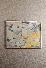 Constantin Macris (1917-1984) Composition, août 1958