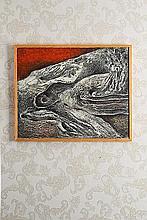 Valerios Caloutsis (né en 1927) Paysage, 1958