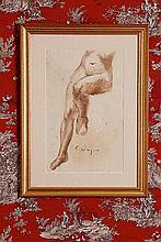 Charles Despiau (1874-1946) Etude de Nu