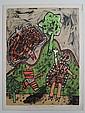 Guillaume Corneille, Le dialogue avec l'arbre, 1970