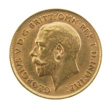 George V, Half-Sovereign 1912.