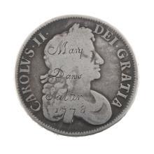Charles II, Crown 1677.