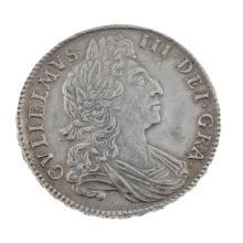William III, Halfcrown 1698.