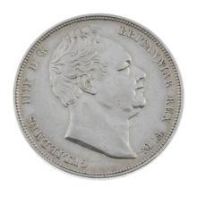 William IV, Halfcrown 1834.