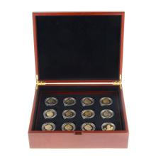 A History of the Monarchy, the Tudors and the Stuarts, silver-gilt proof crown collection.