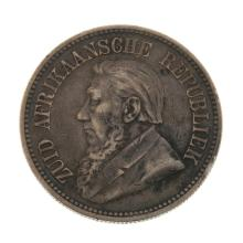 South Africa, ZAR, 2 1/2 Shillings (4) 1894 (2),etc.
