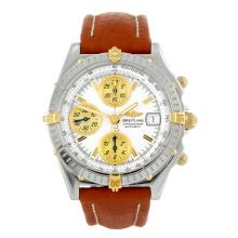 BREITLING - a limited edition gentleman's stainless steel Windrider Chronomat