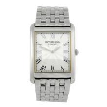RAYMOND WEIL - a gentleman's stainless steel Don Giovanni bracelet watch.