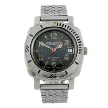 NIVADA GRENCHEN - a gentleman's stainless steel Depthmaster 1000 bracelet watch.